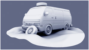 omni van 3D model