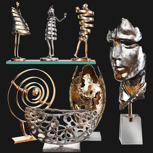 decorative set 66 3D