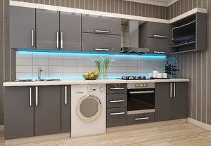 3D kitchen furniture design aydin