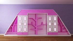 3D wardrobe furniture design model