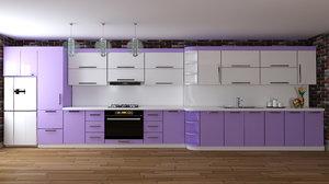3D kitchen furniture design elmar