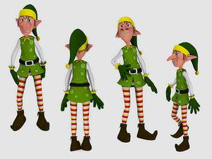 elf character model