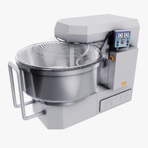 3D dough mixer