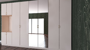 wardrobe furniture design 3D