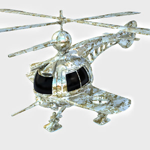 drone copter concept 3D model