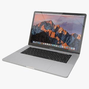 2016 macbook pro 15-inch 3D model