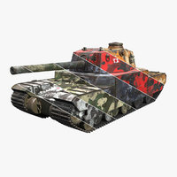 Type 2605 Super Heavy Tank Camouflages set