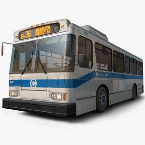 generic bus 02 3D model