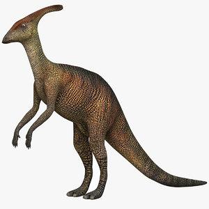 3D parasaurolophus alberta