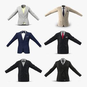suit jackets 2 model
