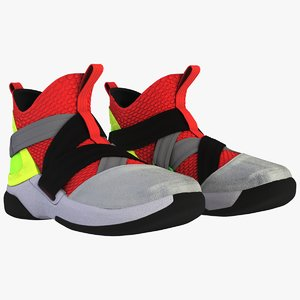 3D nike lebron soldier xii