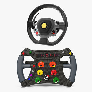 steering wheel 3 3D model