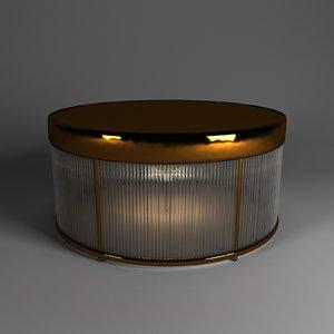 newport 3296a brass 3D model