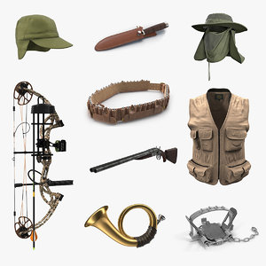 3D hunting equipment 5 model