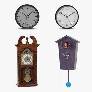 wall clock 2 3D model