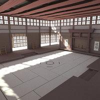Dojo room ( Interior )
