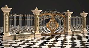 3D gate fence