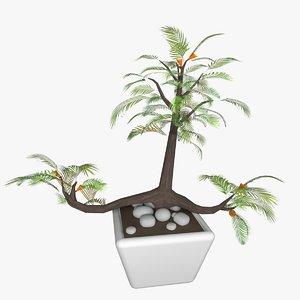 3D model decorative plant