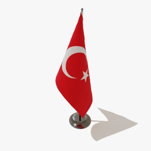 table flag turkey model