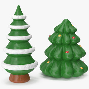 christmas tree figurines 4 3D model