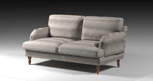 ikea seat loveseat 3D model