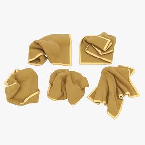 towel 3D