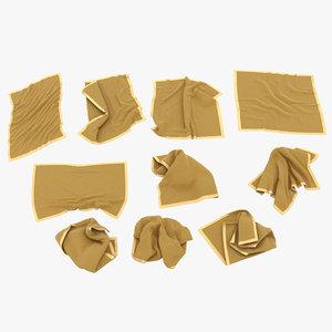 3D fabric model
