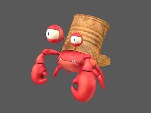 hermit crab 3D