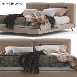 bed ditre italia 191x236 model