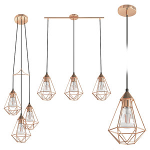 byron grid lamp 3D model