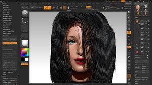 3D head isabella smith
