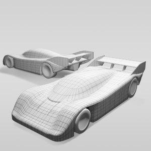 3D car group c variants model