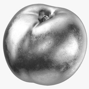 nectarine 01 silver 3D model