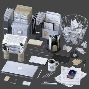 office set 3D