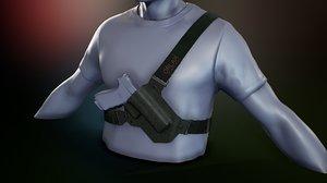 chest holster model
