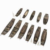Fishing boats group
