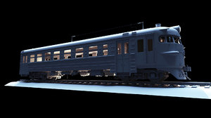 ussr s train er9p model