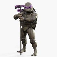 3D donatello teenage mutant ninja turtles