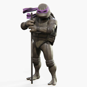3D donatello teenage mutant ninja turtles