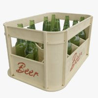 Beer Crate with Bottles