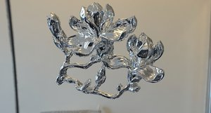 magnolia flower 3D model