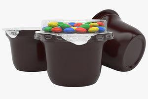 3D plastic container type3