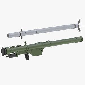 3D 9k32 strela-2 model