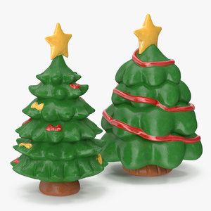 christmas tree figurines 5 3D model