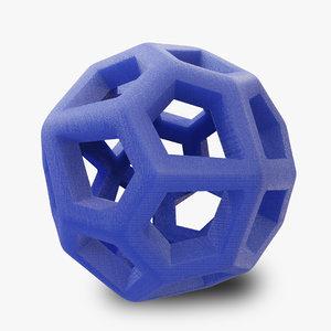 math objects 3D model