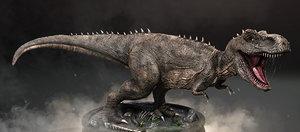 tyrannosaurus rex t-rex 3D