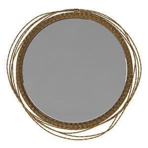 3D koket brabbu kayan mirror