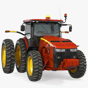 3D tractor dual wheels generic