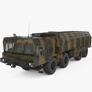 3D model k720 mzkt-7930 iskander