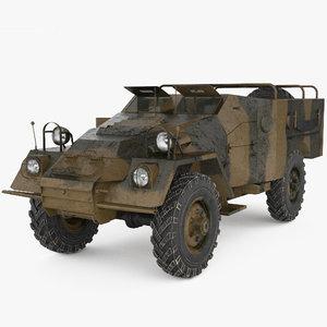 btr-40 btr 40 3D model